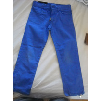 Pantalon Chupin Violeta C/pintitas Coral C/cierre Abajo!mira
