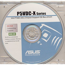 Cd Drivers Original Placa Mae Asus P5vdc-x Series Frete Grat