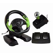 Volante Controle Xbox 360 Pc Computador Dual Shock Pro 50