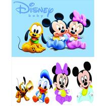 Kit Display Disney Baby 8 Peça + Painel