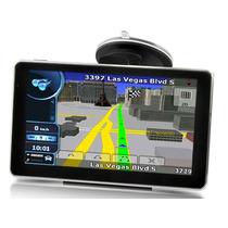 Navegador Gps 7 Pulgadas Hd Touch Bluetooth Único Con Garmin