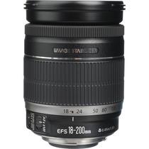 Lente Canon Ef-s Af 18-200mm F/3.5-5.6 Is +nfe +garantia