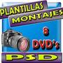 Plantillas Psd Photoshop Profesionales 2012 Fotomontaje Full