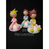 Souvenirs X10 Bautismo, Nacimiento, Comunion Porcelana Fria