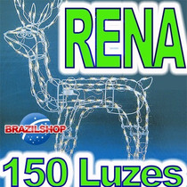 Rena Iluminada 150 Luzes Unica Que Pisca E Pode Tomar Chuva