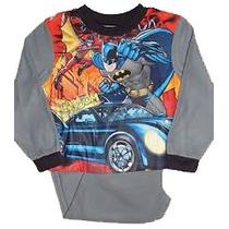 Pijamas Batman Originales Talle 4/5 Y 6/7 Años Import Nuevos