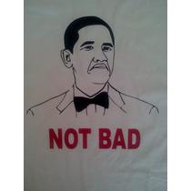 Remeras Y Buzos Meme Obama Not Bad! En Vinilo!