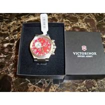 Reloj Victorinox Swiss Army Caballero Convoy Usado Caja