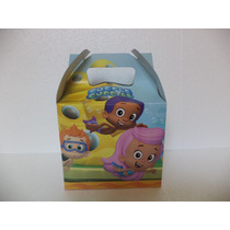 Bubble Guppies Fiestas 12 Cajitas Carton Dulceros Recuerdos