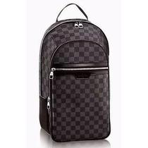Mochila /bolsa Masculina Louis Vuitton Michael Frete Gratis