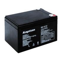 Bateria Recargable De Acido Sellada De 12 Vcc 12 Amp Kapton