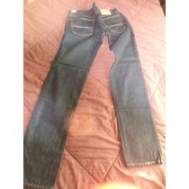 Pantalon De Mezclilla Hollister Skinny 34x34 Envio Gratisdhl