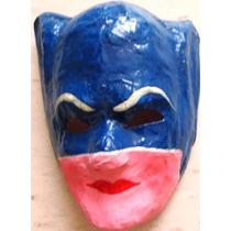 Vintage Mascara Mexicana De Batichica Años 60s