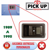 89-95 Toyota Pick Up Camioneta Manija Interior Derecha Cafe