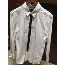 Guess Camisa De Vestir Blanca Con Corbata Talla M Hombre