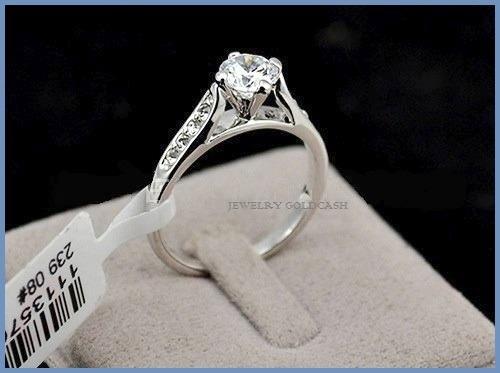 Goldcash elegante anillo de compromiso plata en mercado libre - Cuberterias de plata precios ...
