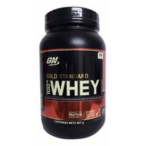 Proteina Gold Standard 100% Whey 2 Libras Sabor Fresa
