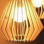 Lampara Colgante Mdf - Diseños Especiales - Varios Tamaños