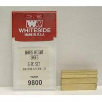 Whiteside 9800 Máquina De Latón Configurar Bloques Patrón
