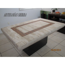 Comedor De Mármol Travertino Beige 1.50x1.00 Mt. Oferta !!
