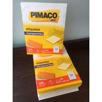 Etiqueta Pimaco 0080 Transparente