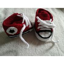 Zapatitos Para Bebe Crochet