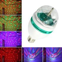Mini Laser Bombillo Giratorio Led Multicolor Eventos