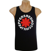 Camiseta Regata Masculina Rock Bandas Red Hot Chili Peppers