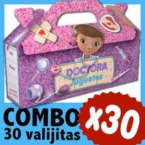 Doctora Juguetes Cajita Valijita Bolsita Souvenir Combo X 30