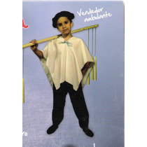 Disfraz De Gaucho Vendedor Ambulante Velero Farolero