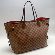 Hermosa Bolsa Neverfull Louis Vuitton Gm