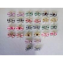 100 Lacinhos Micro P/ Banho/tosa P/ Cães, Gatos, Coelhos