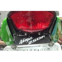 Sup.de Placa Ninja 250 C/luz De Placa E Pisca De Led