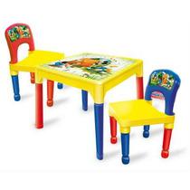 Mesa Y Sillas Mickey Mouse Plastico Desarmable/ Open-toys 71
