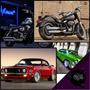 Placas Decorativas Retro Vintage Carros, Motos, Garagem