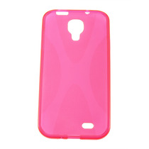 Funda Gel Para Samsung Galaxy S4, Anti-derrape Color Fucsia