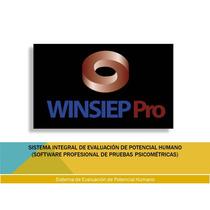 Software Profesional De 22 Pruebas Psicométricas Winsiep