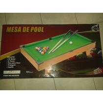 Mesas De Pool Mediana