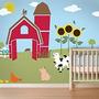 Mis Maravillosos Paredes Animal Farm Imagen De Pared Kit D