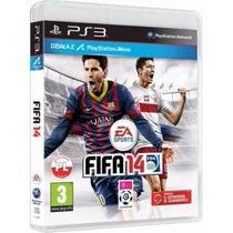 Fifa 14 2014 - Ps3 - Midia Fisica Original Semi-novo