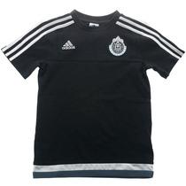 Playera Entrenamiento Chivas Niño 6-7 Años Adidas S17515