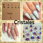 100 Cristales Swarovski O 20 Perlas Para Uñas