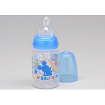Mamadeira Silicone Orto 1 Mickey Azul 120ml - Lillo