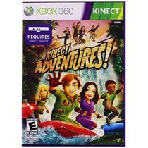 Kinect Adventures Xbox 360 Kinect Nuevo Sellado Disco Fisico