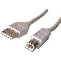 Cable Usb Generico Impresora Modem Scanner Otros 3 Metros