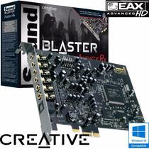 Placa Sonido Creative Sound Blaster Audigy Rx 7.1 Pcie Expr.