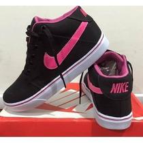 Tênis Nike Botinha Cano Alto+frete Grátis E Com 30% Off
