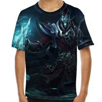 Camiseta League Of Legends Karthus Voz Mortal Infantil