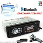 Radio Para Carro Bluetooh Usb Sd Aux Pantalla Led Extraible