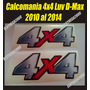 Kit De Calcomanias 4x4 Chevrolet Luv D-max 2010, Al 2014